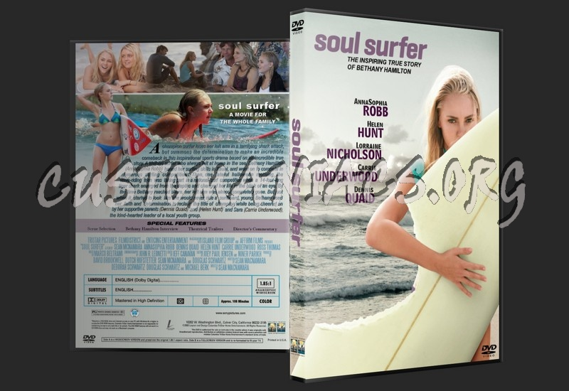 Surfer Dvd Soul Surfer Dvd Cover
