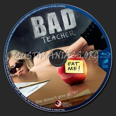 Bad Teacher blu-ray label