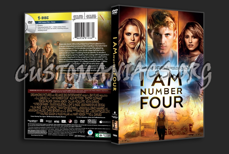 I Am Number Four dvd cover