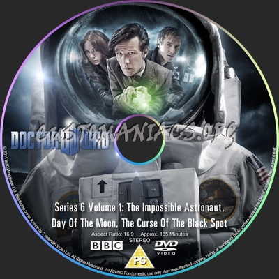 Doctor Who Series 6 Volume 1 dvd label