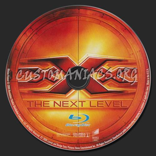 xXx 2 - The Next Level blu-ray label