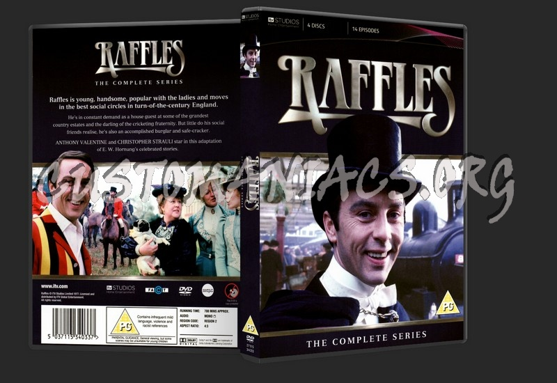 Raffles: The Complete Series dvd cover