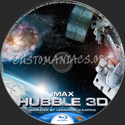Hubble 3D blu-ray label - DVD Covers & Labels by ...