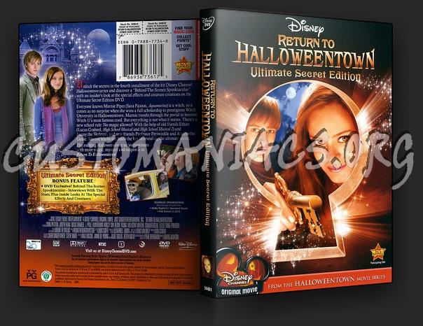 Return To Halloweentown dvd cover