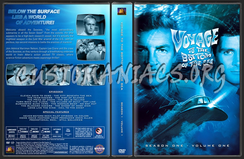 Season 1 · Volume 1 dvd cover
