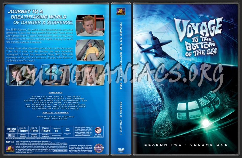 Season 2 · Volume 1 dvd cover