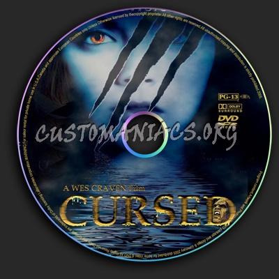 Cursed dvd label