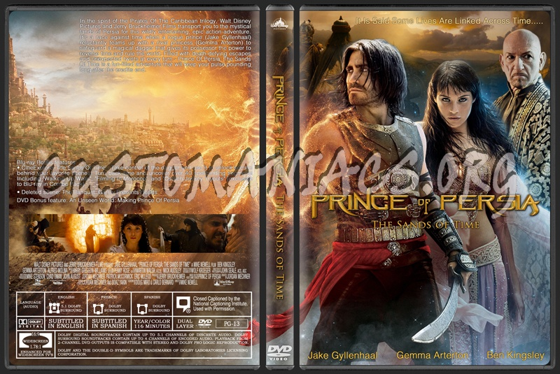 Prince Of Persia The Sands Of Time Dvd Cover Dvd Covers Labels By Customaniacs Id 135814 Free Download Highres Dvd Cover