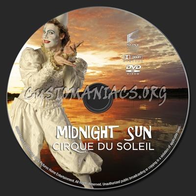 Cirque Du Soleil: Midnight Sun dvd label