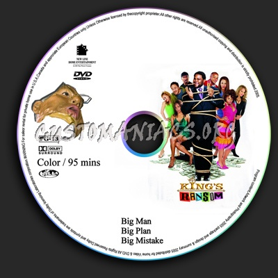 King's Ransom dvd label