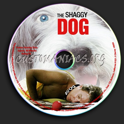 Shaggy Dog dvd label
