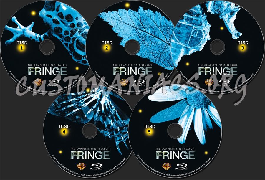 Fringe Season 1 blu-ray label