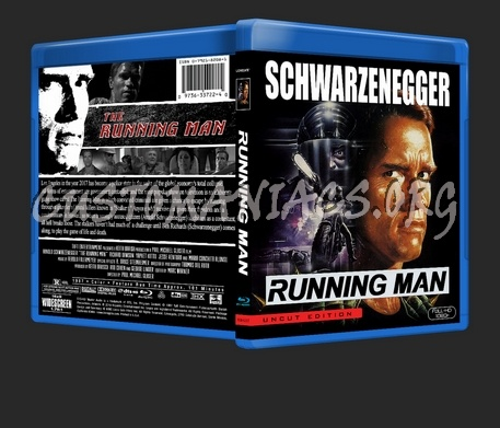 The Running Man blu-ray cover