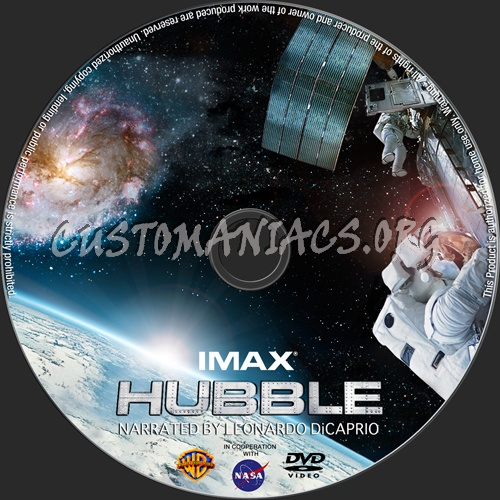 IMAX Hubble dvd label - DVD Covers & Labels by Customaniacs, id: 136022 free download highres ...
