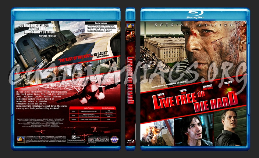 Die Hard - 4K Ultra HD Blu-ray Ultra HD Review | High Def ...