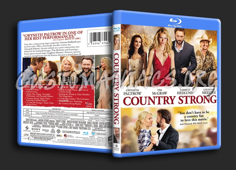 Country Strong blu-ray cover