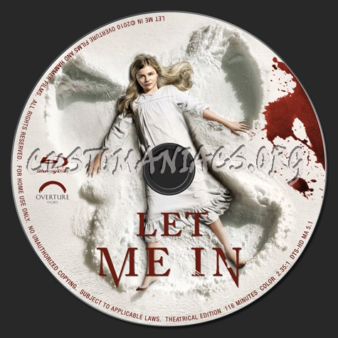 Let Me In blu-ray label