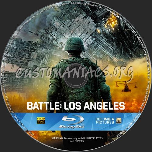 Battle:Los Angeles blu-ray label