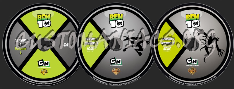 Ben 10 Season 2 dvd label - DVD Covers & Labels by Customaniacs, id