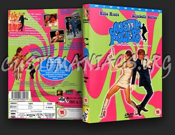 Austin Powers International Man of Mystery dvd cover