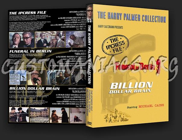 Ipcress File / Funeral in Berlin / Billion Dollar Brain dvd cover