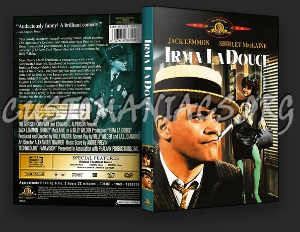 Irma la Douce dvd cover