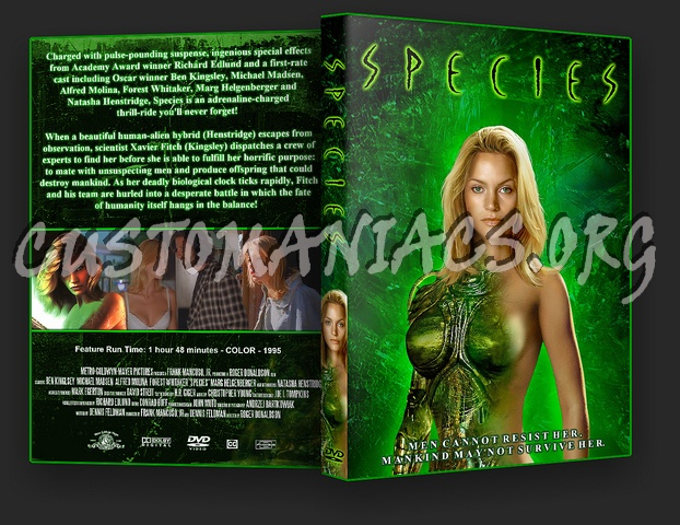 Species dvd cover