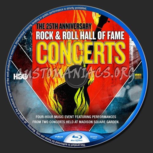 25th anniversary rock and roll hall of fame download