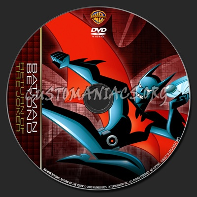 Batman Beyond: Return Of The Joker - TV Collection dvd label