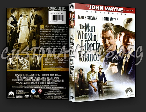 The Man Who Shot Liberty Valance dvd cover