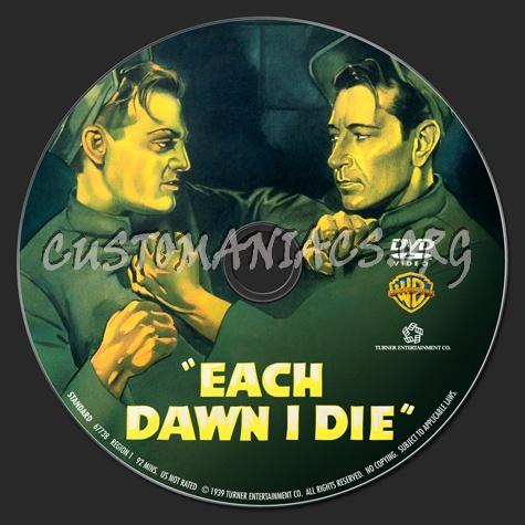 Each Dawn I Die dvd label