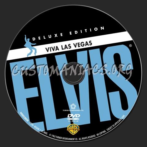 Elvis: Viva Las Vegas dvd label