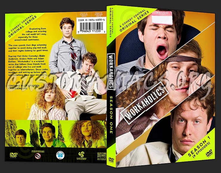 Workaholics Cover Photo DVD Covers & Label...