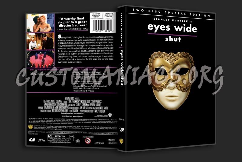 Eyes Wide Shut dvd cover
