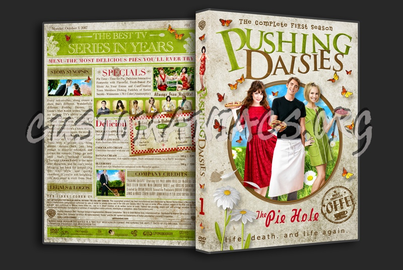 Pushing daisies: pie-lette.