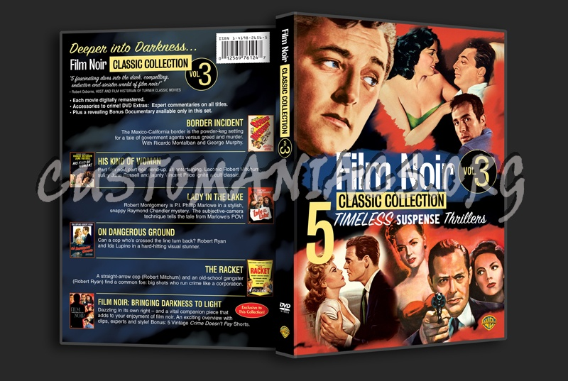 Film Noir Classic Collection Volume 3 dvd cover