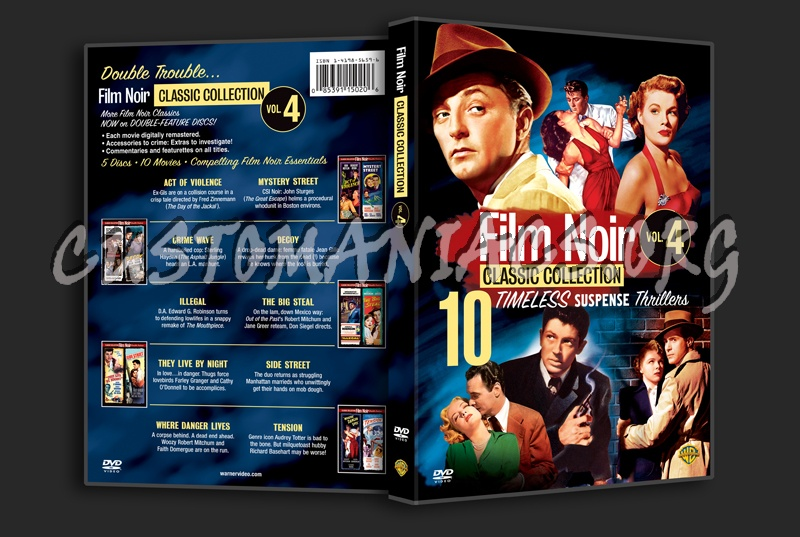 Film Noir Classic Collection Volume 4 dvd cover