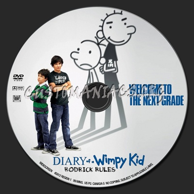 Diary Of A Wimpy Kid Rodrick Rules Dvd Label Dvd Covers Labels By Customaniacs Id 137562 Free Download Highres Dvd Label