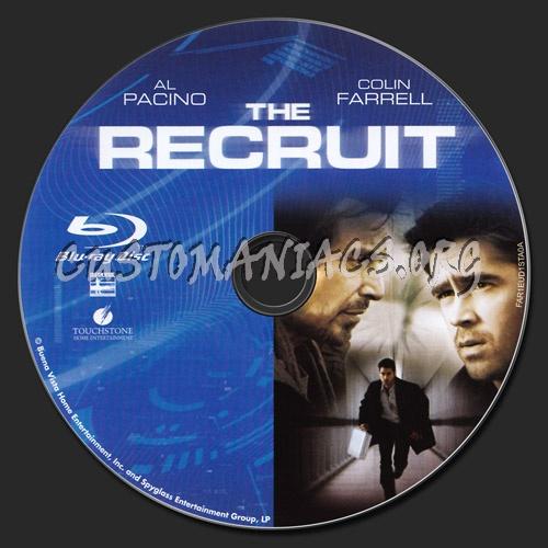 The Recruit blu-ray label