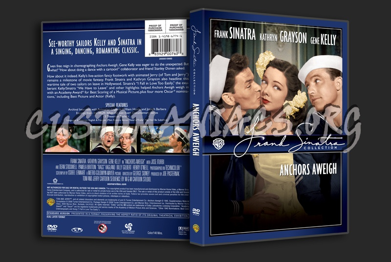 Frank Sinatra Collection: Anchors Aweigh dvd cover