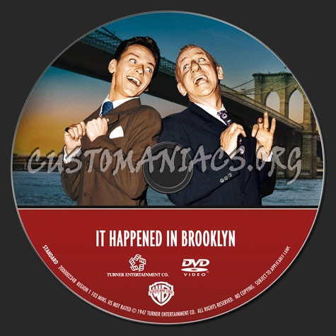 Frank Sinatra Collection: It Happened in Brooklyn dvd label