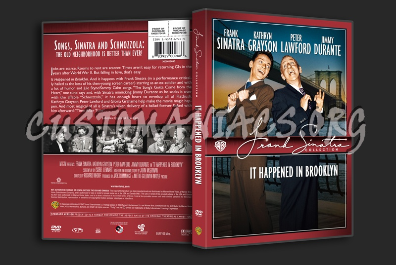 Frank sinatra collection it happened in brooklyn dvd cover