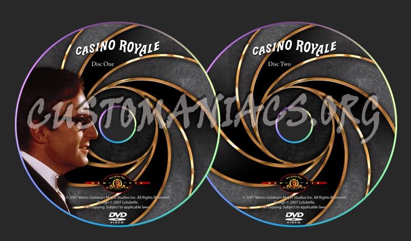 James Bond 007 Collection dvd label