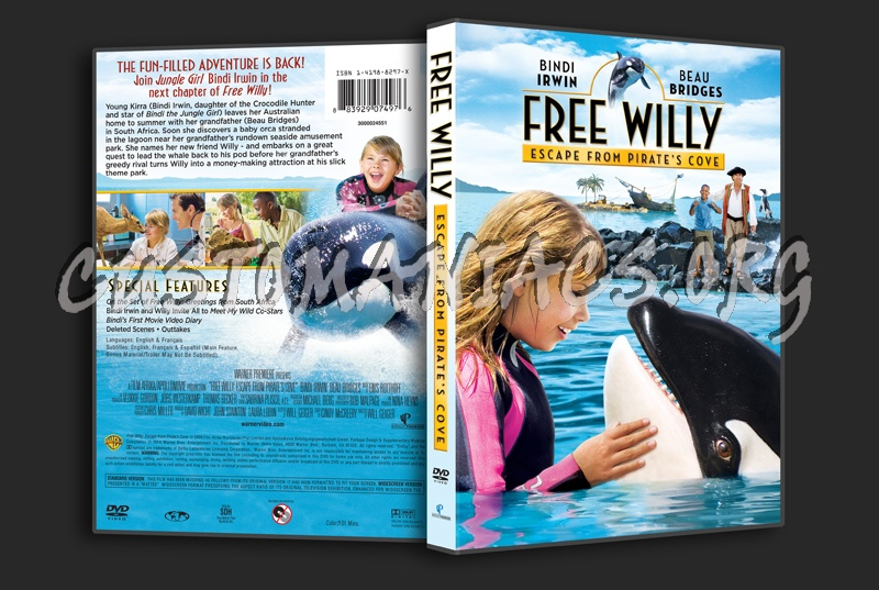 Free Willy Escape From Pirate's Cove dvd cover