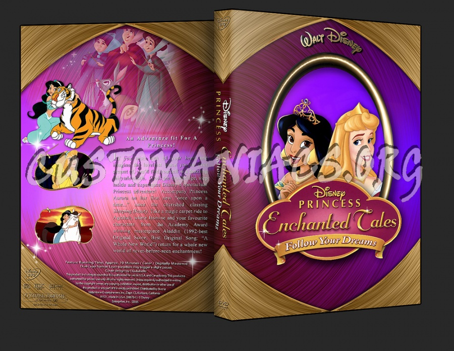 Disney Princess Enchanted Tales Follow Your Dreams dvd cover