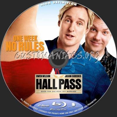 Hall Pass Blu Ray Label