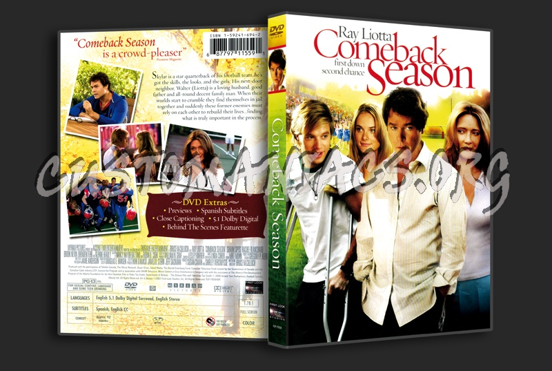 Comeback Season: DVD Covers & Labels By