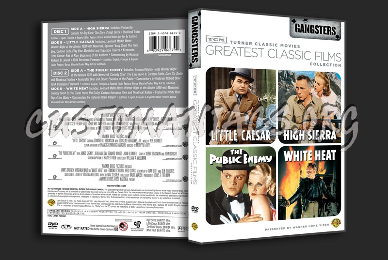 Greatest Classic Films Collection: Gangsters dvd cover