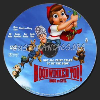 Hoodwinked Too! Hood VS. Evil dvd label