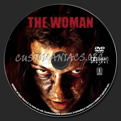 The Woman dvd label